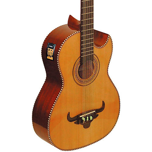 Oscar Schmidt Cutaway Acoustic Electric Bajo Sexto