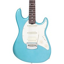 Ernie Ball Music Man Cutlass HSS Rosewood Fretboard Electric Guitar Vintage Turquoise