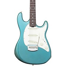 Ernie Ball Music Man Cutlass Trem Rosewood Fingerboard Electric Guitar Vintage Turquoise