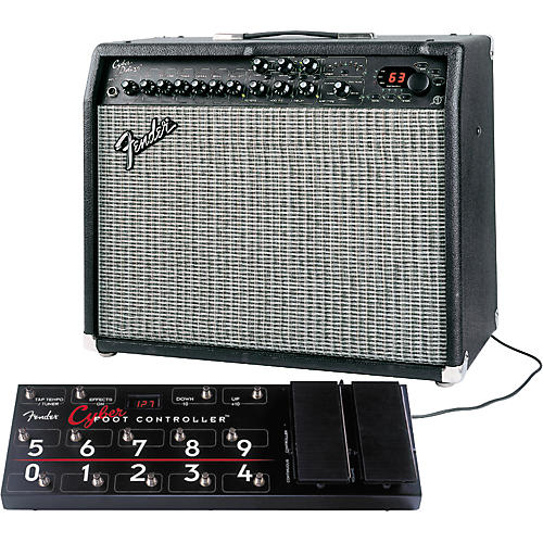 Fender Cyber Deluxe and Footcontroller Package-thumbnail