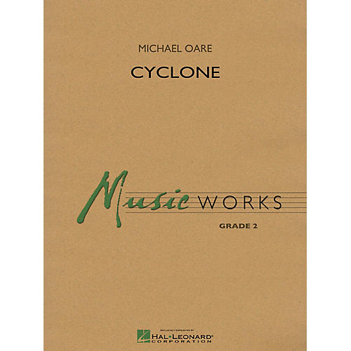 Hal Leonard Cyclone Concert Band Level 2 Composed by Michael Oare-thumbnail