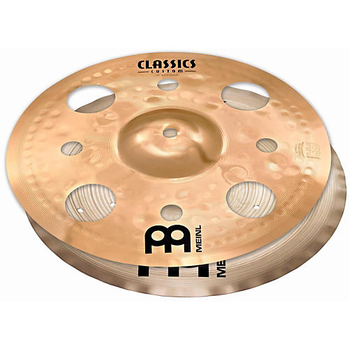 Meinl Cymbal Stack Pair with Trash Splash and Filter China-thumbnail