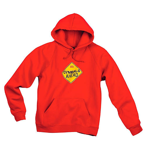 Meinl Cymbals Ahead Hoodie, Red Red Small