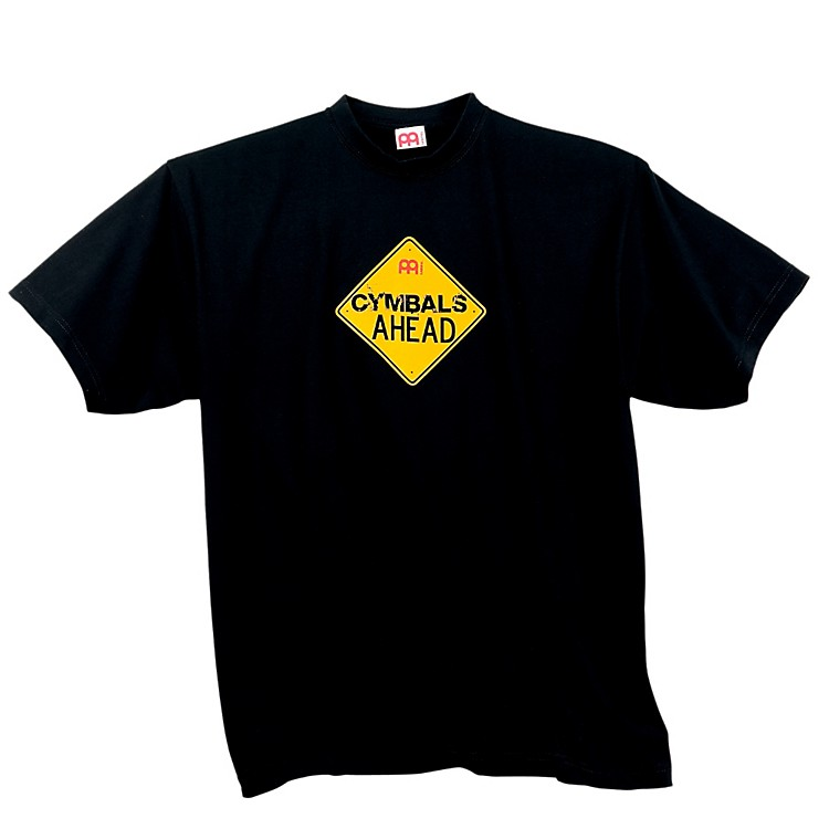 MeinlCymbals Ahead T-Shirt, Black