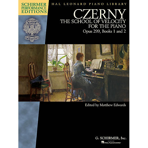 G. Schirmer Czerny - School of Velocity, Op. 299 Schirmer Performance Editions by Czerny Edited by Matthew Edwards-thumbnail