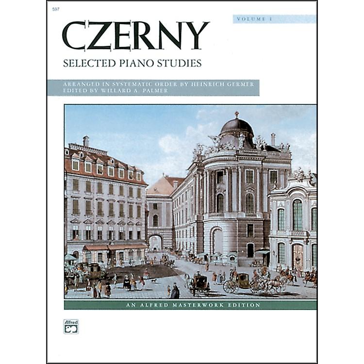 AlfredCzerny Selected Piano Studies Volume 1