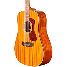Guild D-1212E 12-String Acoustic-Electric Guitar Level 1 Natural