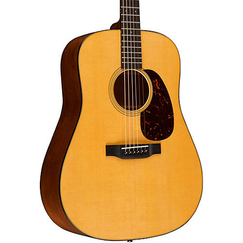 Martin D-18E Retro Series Dreadnought Acoustic-Electric Guitar Natural
