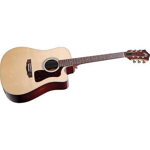 Guild D-40CE Standard Cutaway Acoustic-Electric Guitar