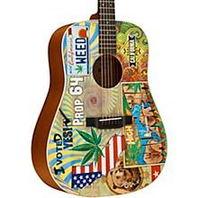Martin D-420 Acoustic Guitar Custom Graphic