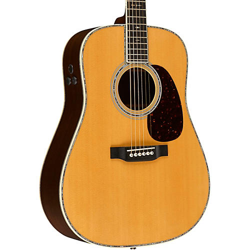 Martin D-45E Retro Series Dreadnought Acoustic-Electric Guitar Natural