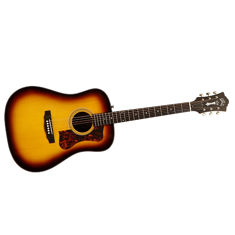 GuildD-50 Bluegrass Special Acoustic-Electric Guitar with DTAR Multi-Source Pickup System