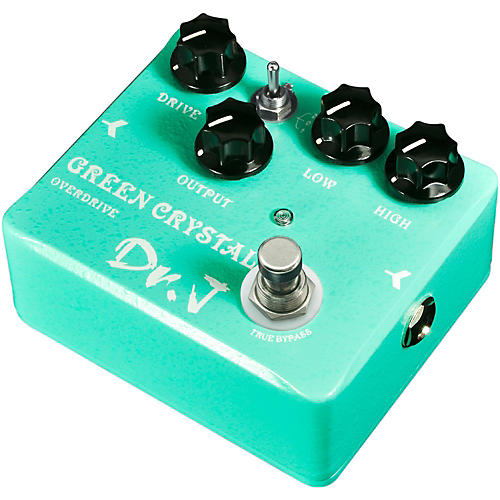 Dr. J Pedals D-50 Green Crystal Overdrive Guitar Effects Pedal with True Bypass