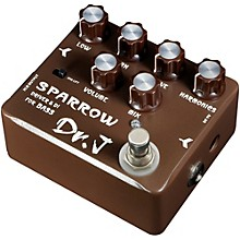 Dr. J Pedals D-53 Sparrow Driver & DI  Bass Guitar Effects Pedal with True Bypass