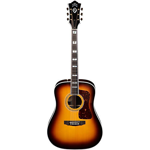 Guild D-55 Acoustic-Electric Guitar with DTAR Multi-Source Pickup System-thumbnail