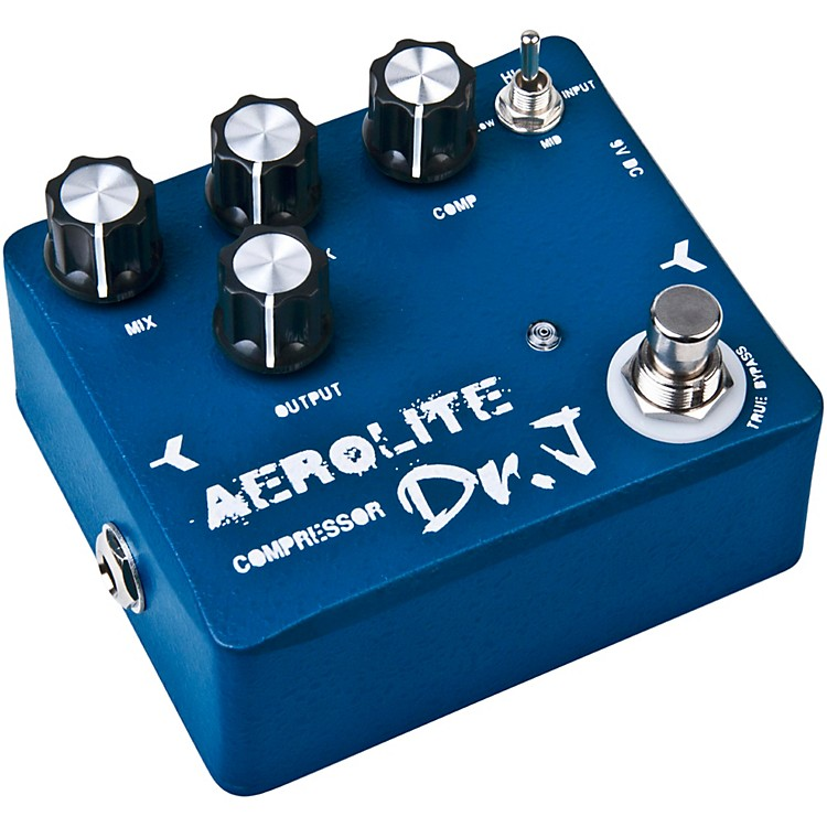 Dr. J Pedals D-55 Aerolite Comp Guitar Effects Compression Pedal with True Bypass