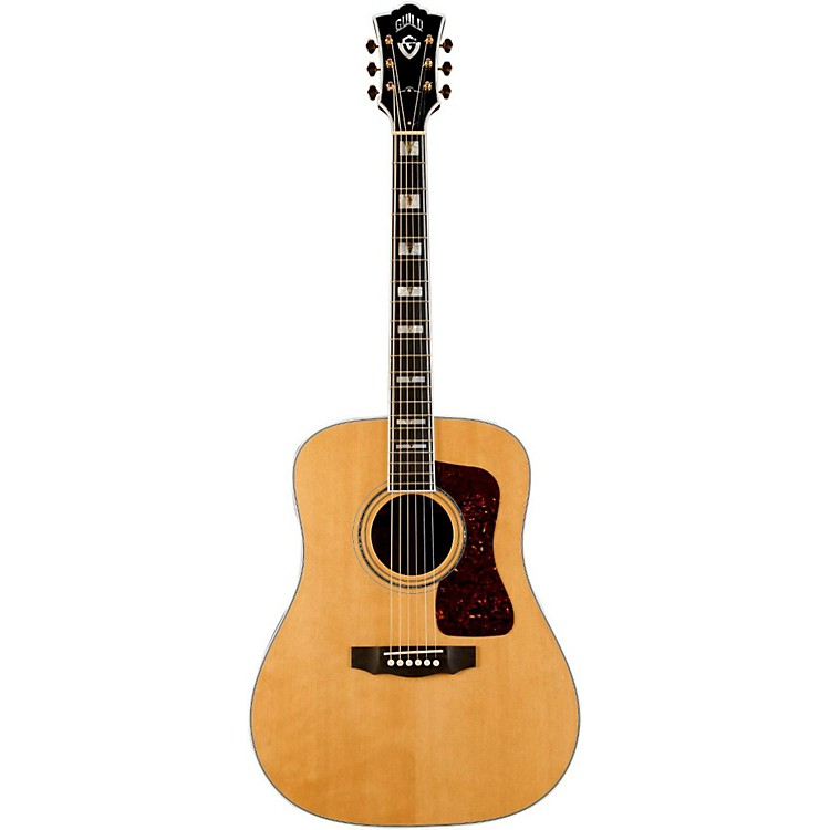 Guild D-55 Dreadnought Acoustic Guitar Natural