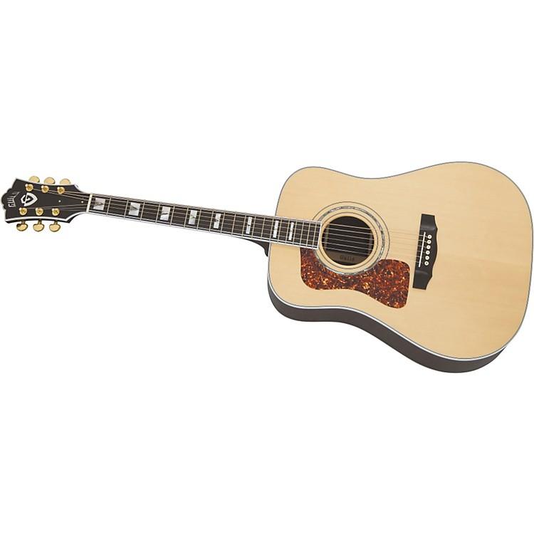 GuildD-55 Lefty Dreadnought Acoustic-Electric Guitar