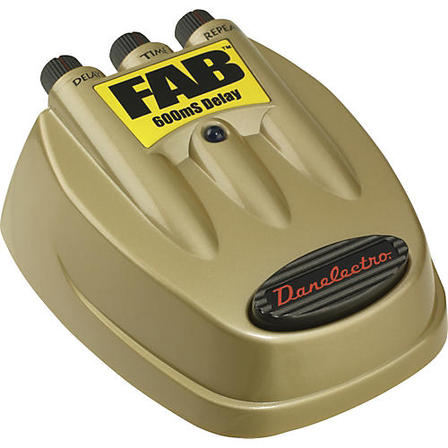Danelectro D-8 FAB Delay Guitar Effects Pedal-thumbnail