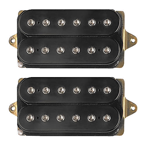DiMarzio D ACTIVATOR HUMBUCKER SET STD NK F SP BRDG Black For 42mm ...