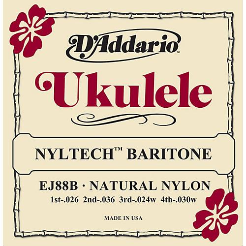 D'Addario D ADDARIO EJ88B NYLTECH BARITONE UKULELE STRINGS