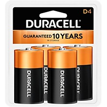 Duracell D Batteries 4-Pack
