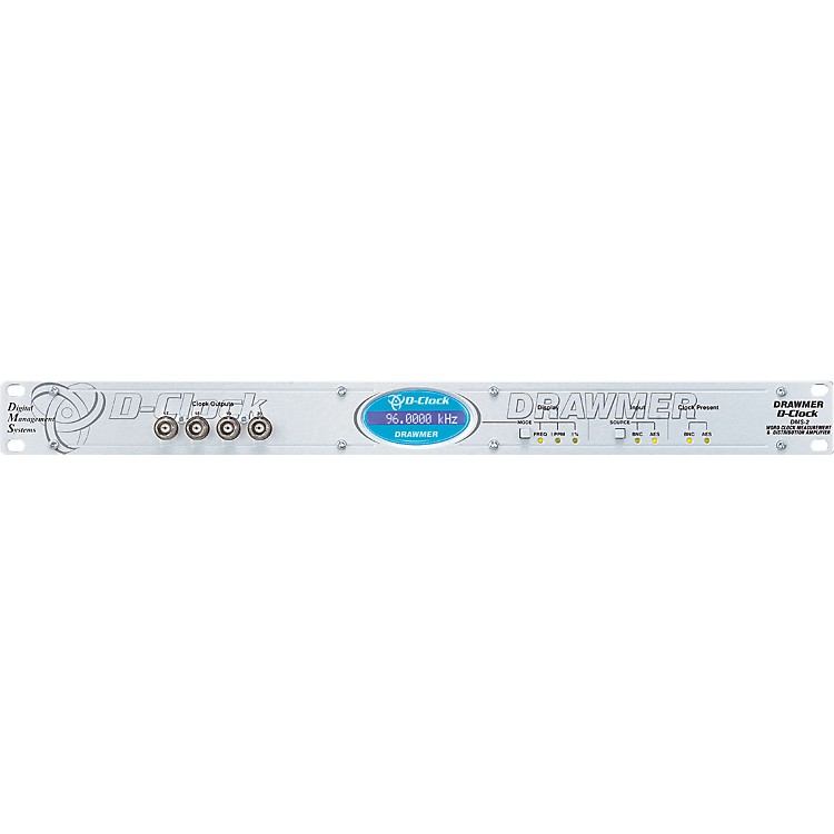 DrawmerD Clock Word Clock Measurement and Distribution Amp