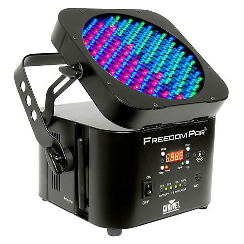 Chauvet D-Fi Wireless DMX RGB LED Wash light