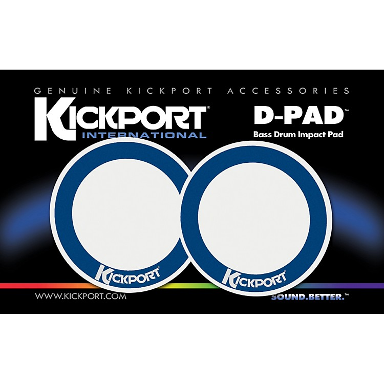 KickportD-Pad Bass Drum Impact Pad 2-Pack