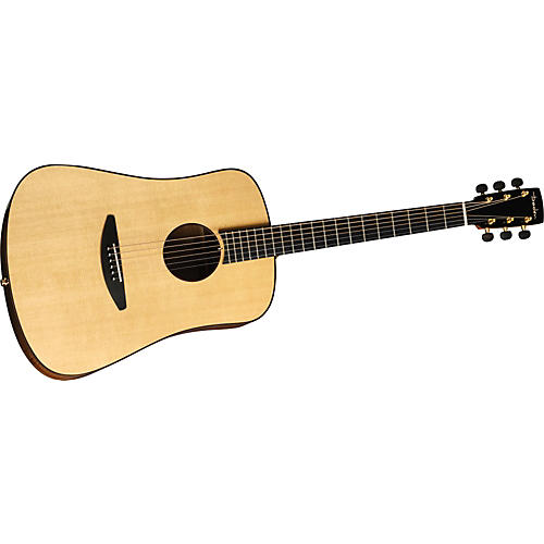 Baden D-Style Mahogany Dreadnought Ellipse Aura Acoustic-Electric Guitar