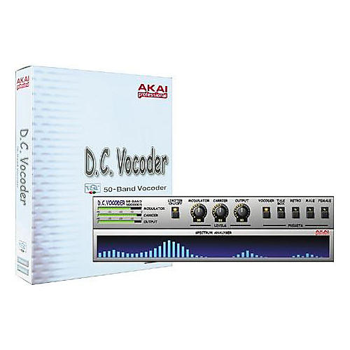 Akai Professional D.C. Vocoder 50-Band VST Plug-In-thumbnail