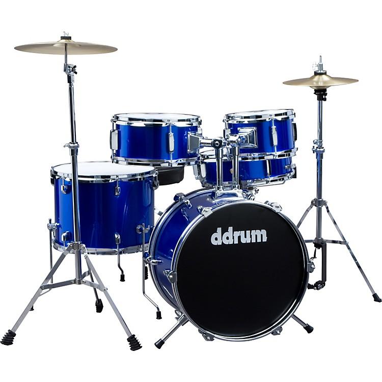 ddrumD1 5-Piece Junior Drum Set with CymbalsPolice Blue