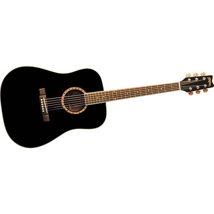 WashburnD100DL Acoustic GuitarBlack