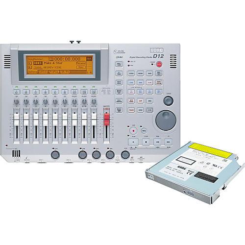 Korg D12 12-Track Digital Recorder with CD-RW Drive