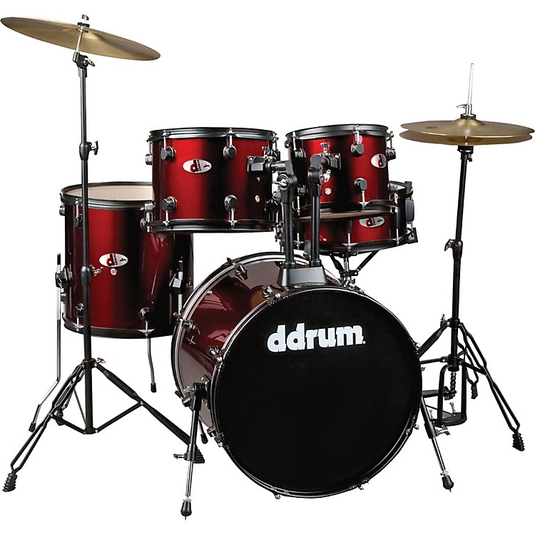 ddrum D120B 5-Piece Drum Set Red
