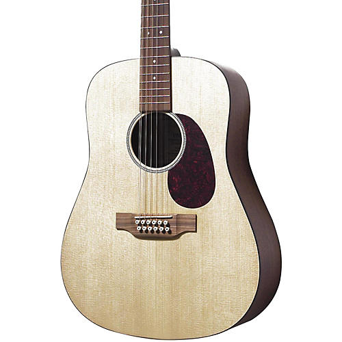 Martin D12GTM Solid Top 12-String Dreadnought Acoustic Guitar Natural