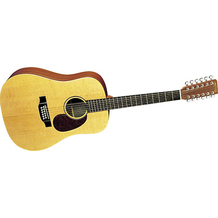 MartinD12X1 12-String Solid Top Acoustic Guitar