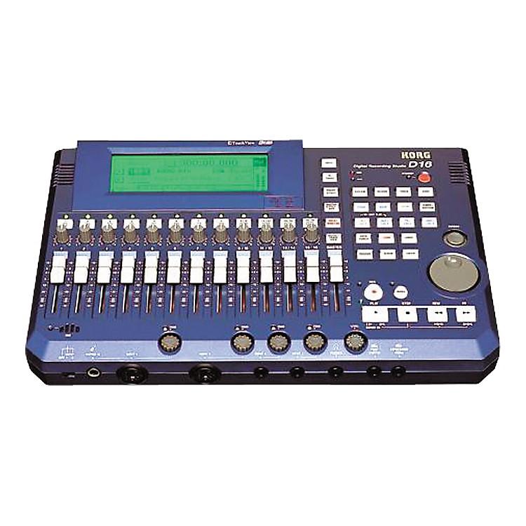 KorgD16 16-Track Digital Recording Studio
