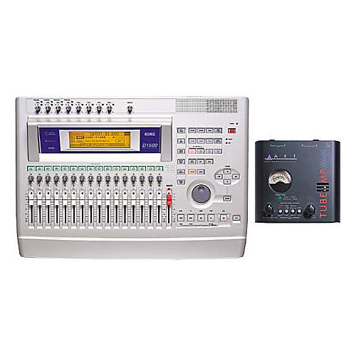 Korg D1600 16-Track Digital Recorder with CD Burner and Art Tube MP-thumbnail