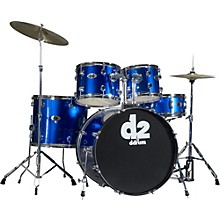 Ddrum D2 5-piece Drum Set Blue