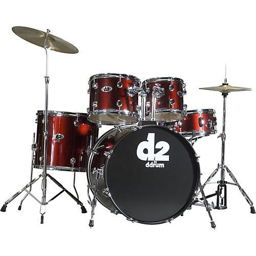 Ddrum D2 5-piece Drum Set Red