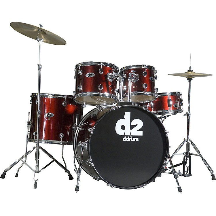 ddrum D2 5-piece Drum Set Midnight Black