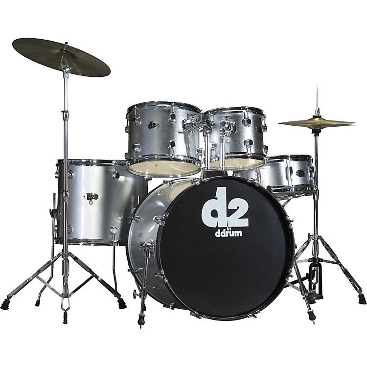 ddrumD2 5-piece Drum SetSilver
