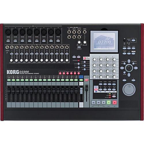 Korg D3200 32-Track Digital Recording Studio