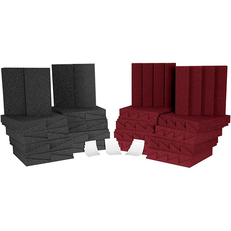 Auralex D36 Roominator Kit Charcoal/Burgundy