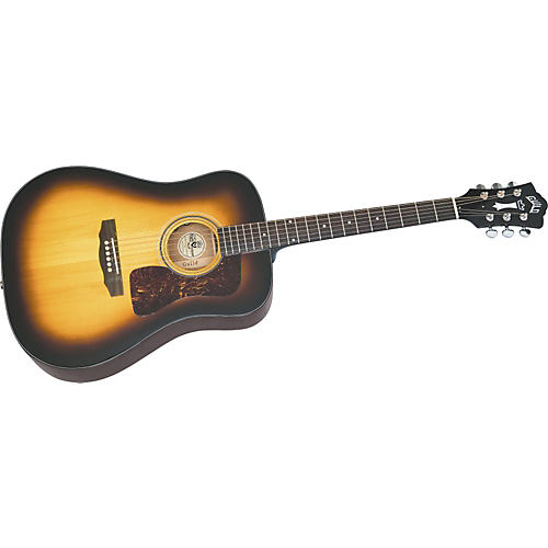 Guild D40 Bluegrass Jubilee Dreadnought Acoustic Guitar With Case