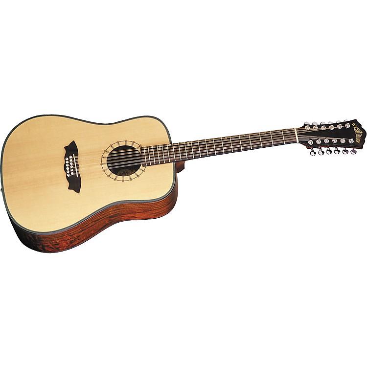 washburn d46s12 southwest 12 string dreadnought acoustic guitar w case musician 39 s friend. Black Bedroom Furniture Sets. Home Design Ideas