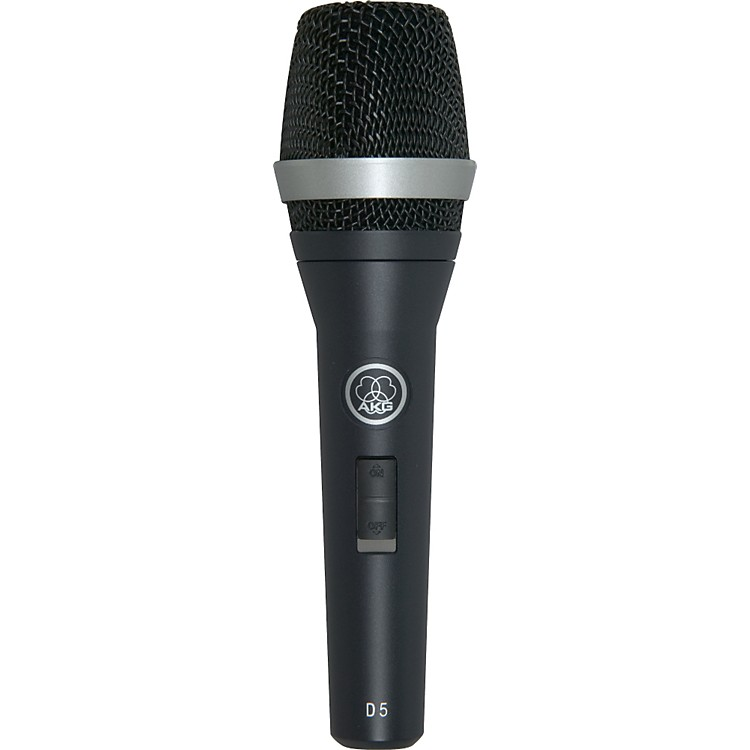 AKG D5 S Supercardioid Dynamic Vocal Microphone with On/Off Switch