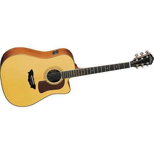 washburn d52swce timbercraft cutaway acoustic electric guitar musician 39 s friend. Black Bedroom Furniture Sets. Home Design Ideas
