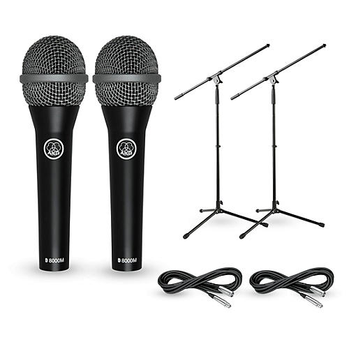 AKG D8000M with Cable and Stand 2 Pack-thumbnail